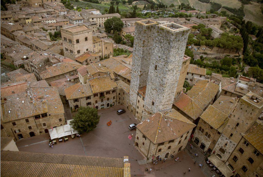 San Gimignano, Toskana, 2017
